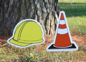 Hard Hat & Safety Cones