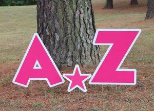 Pink Alphabet