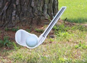 Golf Club with ball