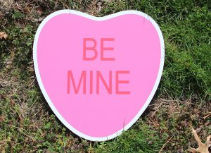 Be Mine-Pink Heart