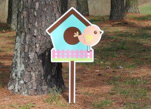 Bird House-Blue