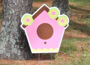 Bird House-Pink