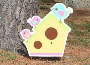 Bird House-Yellow