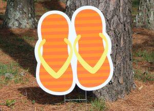 Flip Flops-Orange