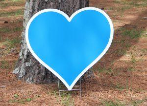Heart-Royal Blue