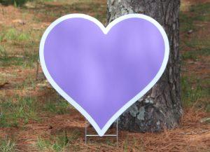 Heart-Violet