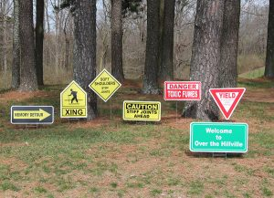 OTH-Caution Signs